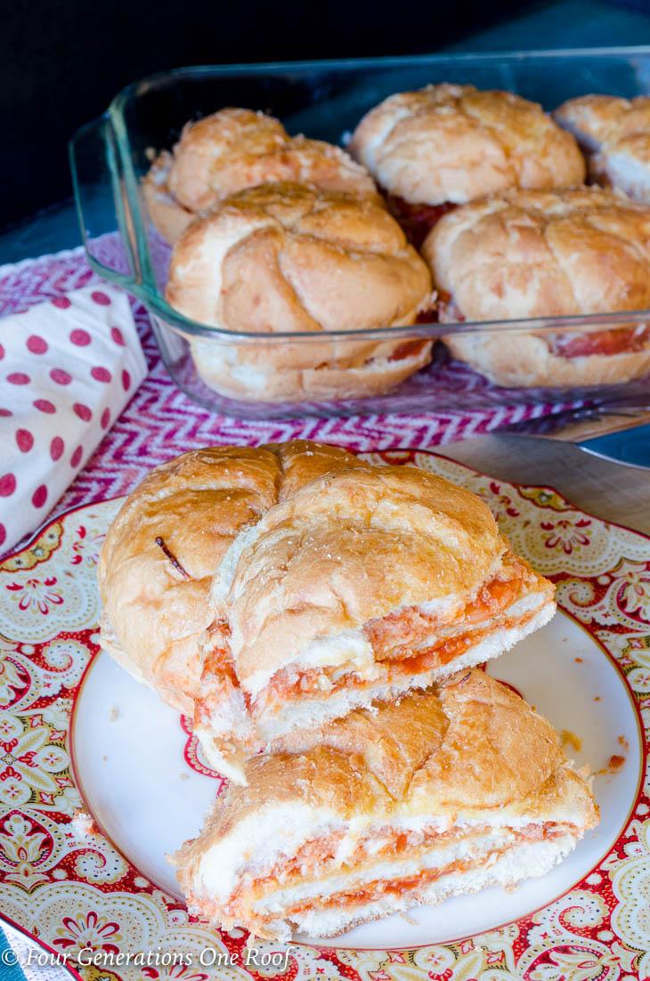 20 Minute Chicken Parmesan Sandwich