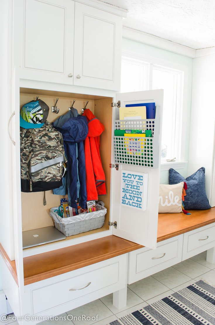 How To Make A School Locker At Home Organization Four