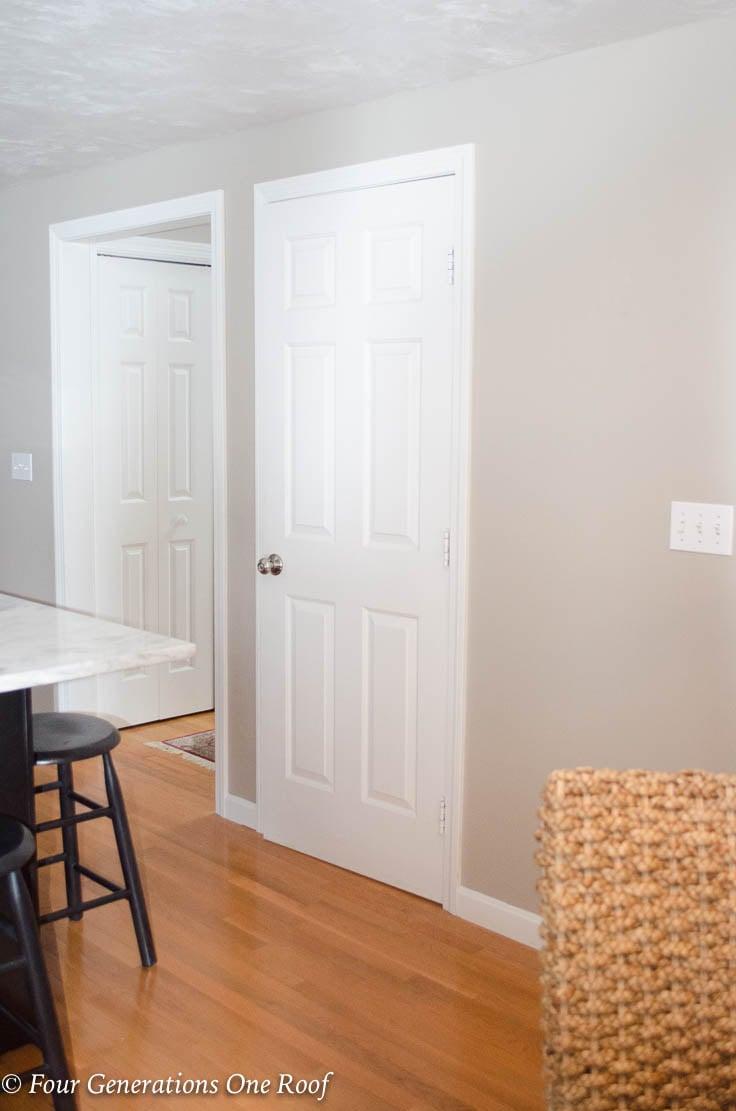 Barn Door Installation Without Removing Door Trim