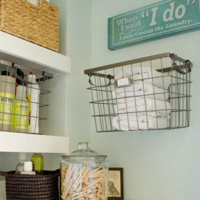 how to love your laundry room : how to guides on repair, maintenance and organization