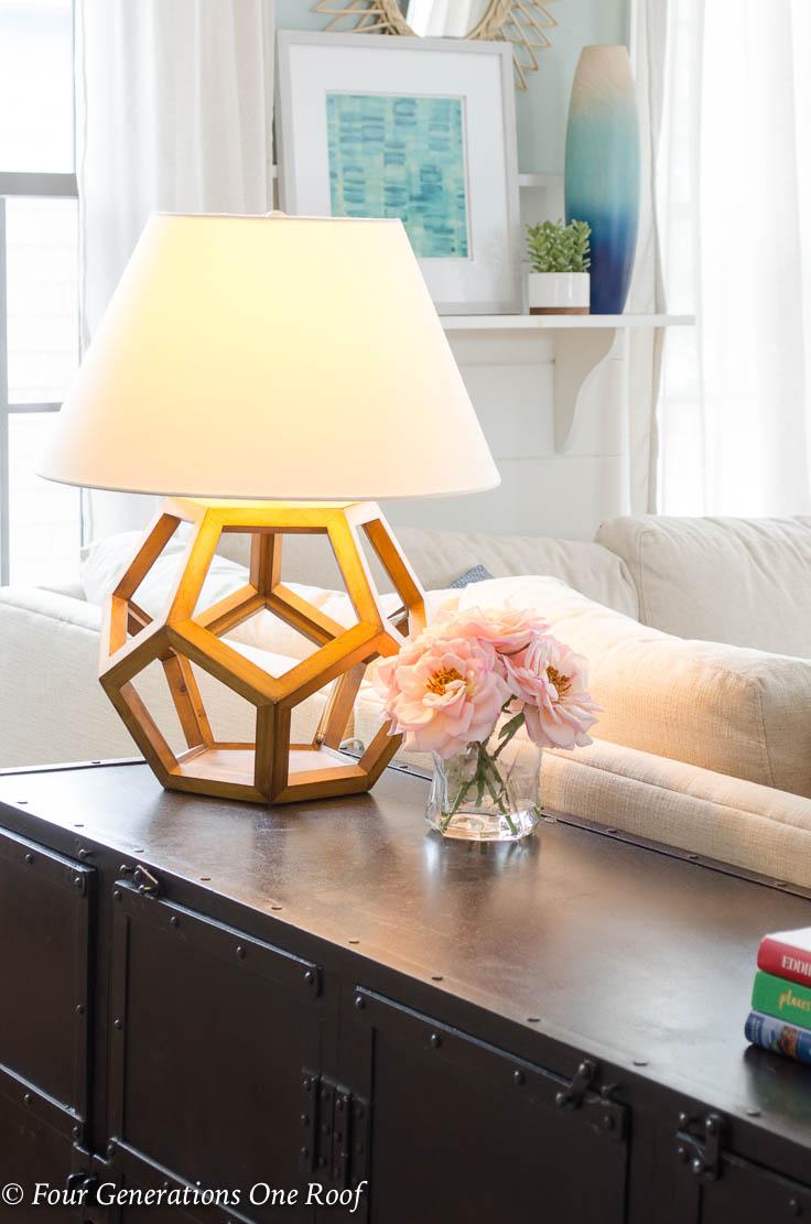 Let the light shine- Easy Lighting Update Using Finally Bulbs