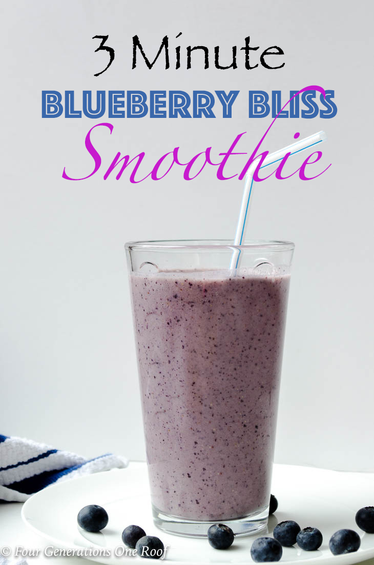 How to make a 3 Minute BlueBerry Bliss Smoothie with flax seed! Kid friendly and easy to make. 3 Minute Kids Blueberry Bliss Smoothie #kidscooking #smoothierecipe #blueberrysmoothie #smoothie #kidscook