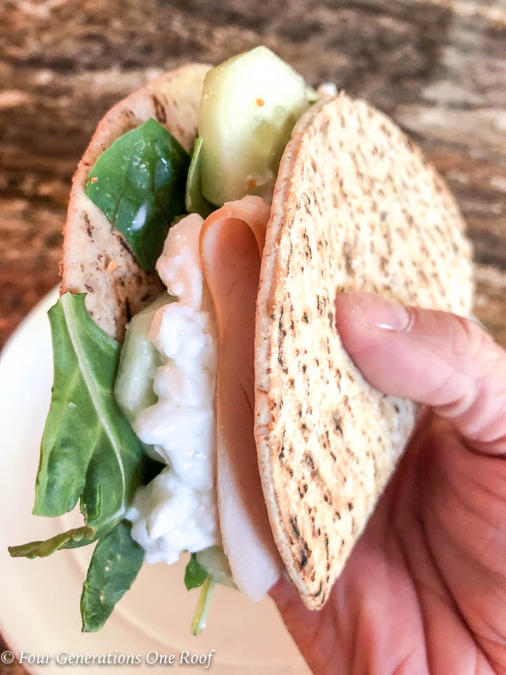 3 Minute The Healthy Lunch Sandwich I never Thought I Would Eat {Week 4}