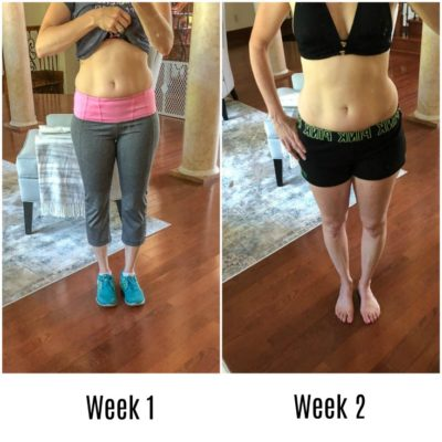 Why I would rather clean toilets than exercise {week 3 of exercise and body pics}