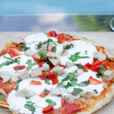 5 Minute Grilled Frozen Cauliflower Pizza Crust Idea