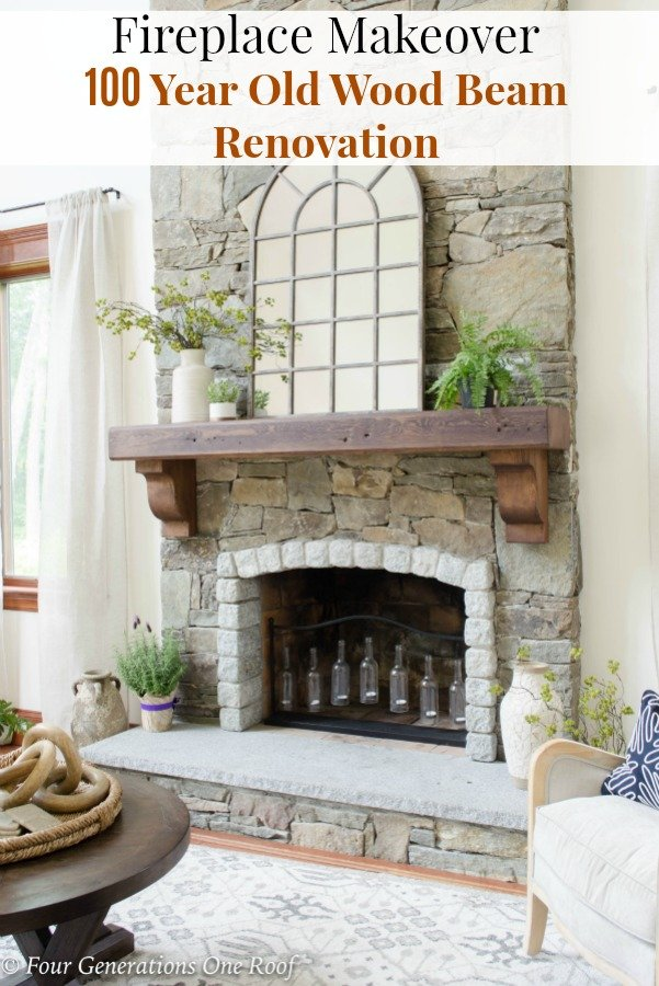 How To Install A Wood Mantel And Corbels With 3 S Rebar Rod
