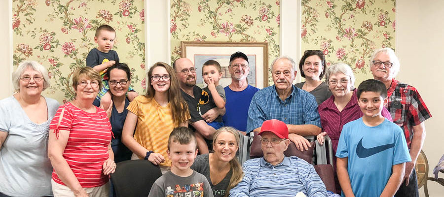 89 Years Old Back on the Farm Raising a Family {update on my grandfather}