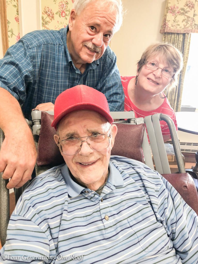 89 Years old back on the farm raising a family | father, son and daughter in law