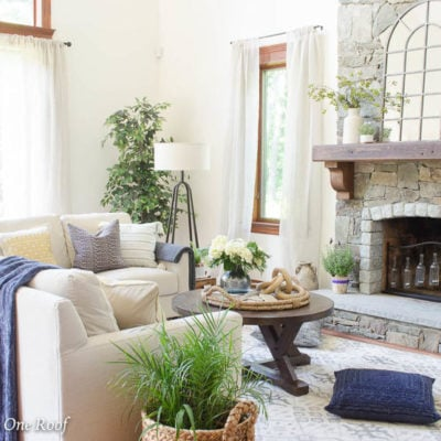 Simple Rustic Modern Fall Decor {Our Mediterranean Fall Tour}