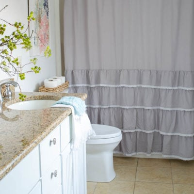 One Day Narrow Bathroom Renovation with Big Results