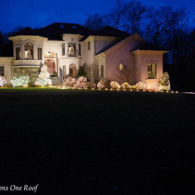 Easy Outdoor Christmas Lights with Big Impact