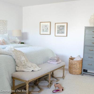 My Secret Fluffy Comforter Layered bedding tip