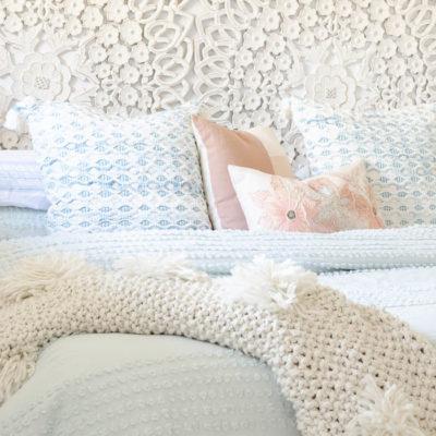 DIY Mint Green Master Bedroom Budget Makeover