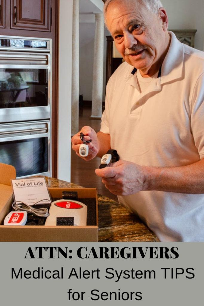 Bay Alarm Medical alert system with Senior Citizen