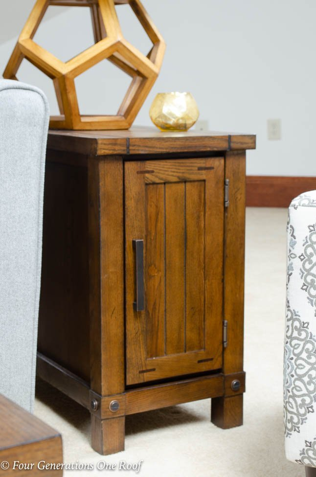 barn style side table