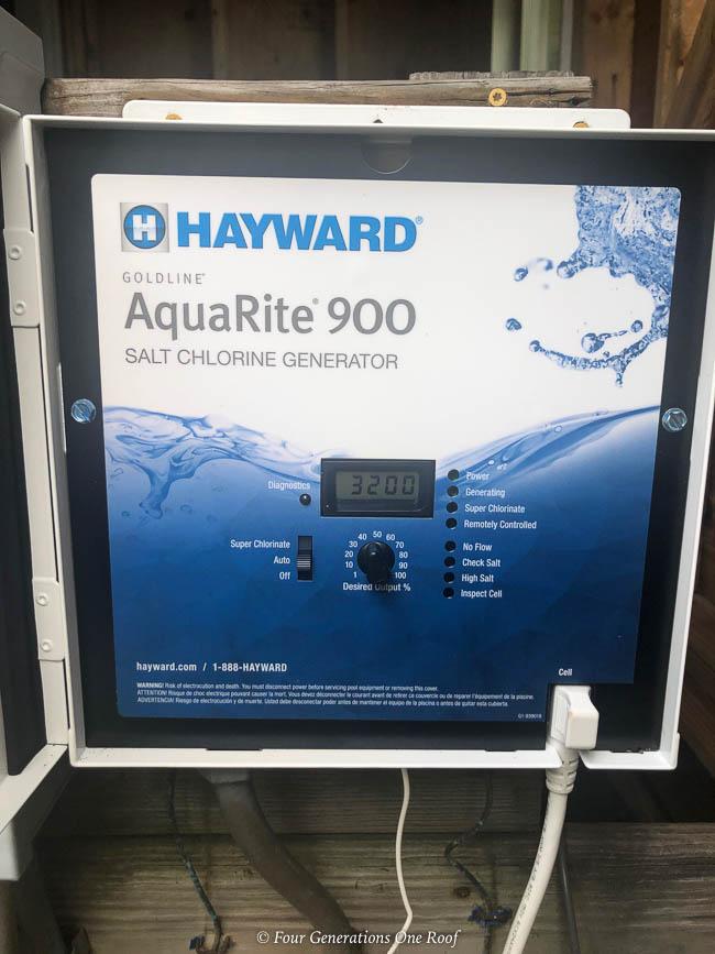Aquarite Salt Water Pool System Hayward