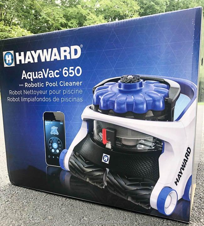 Best pool cleaning robot - Hayward AquaVac 6 Series robotic pool cleaner