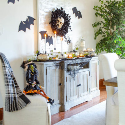 Black and Orange Halloween Table Ideas
