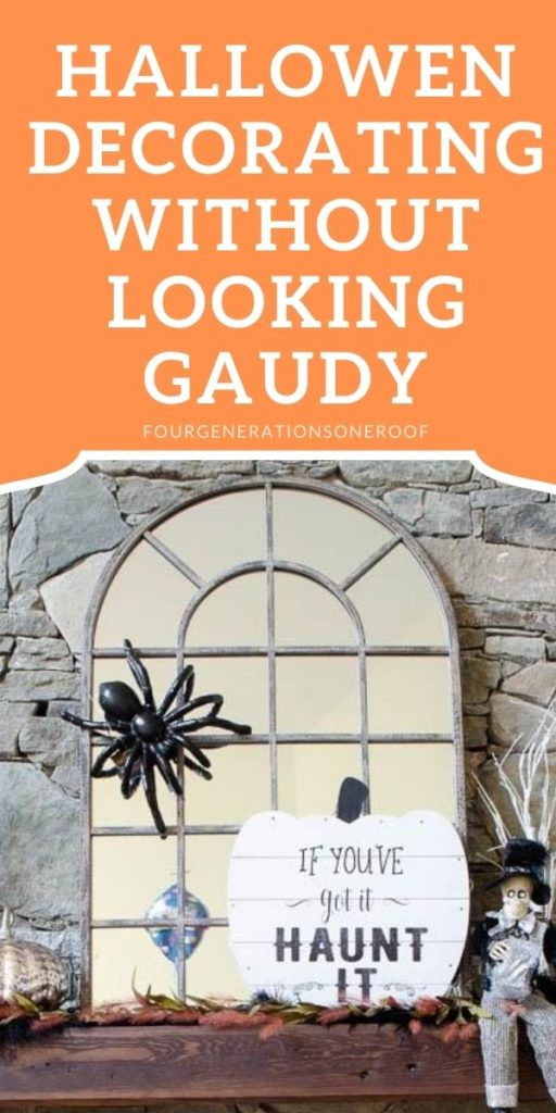 halloween decorating without looking gaudy