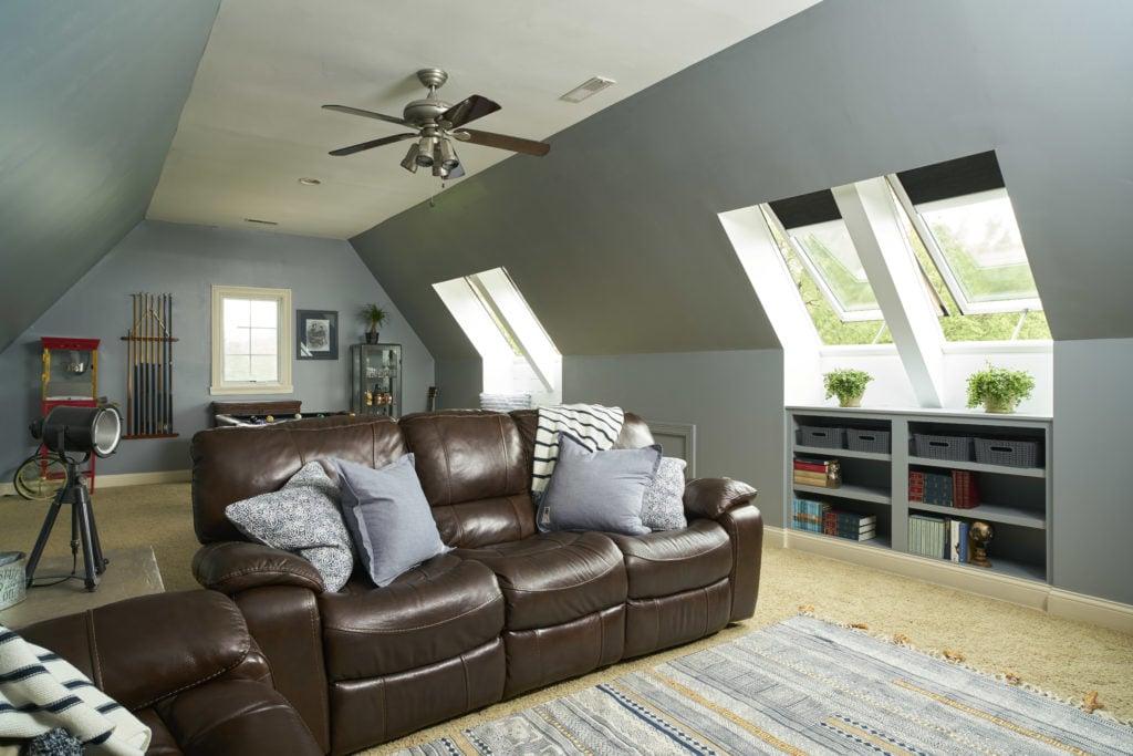 velux skylights in living room attic coolest-no-leak-solar-powered-velux-skylights