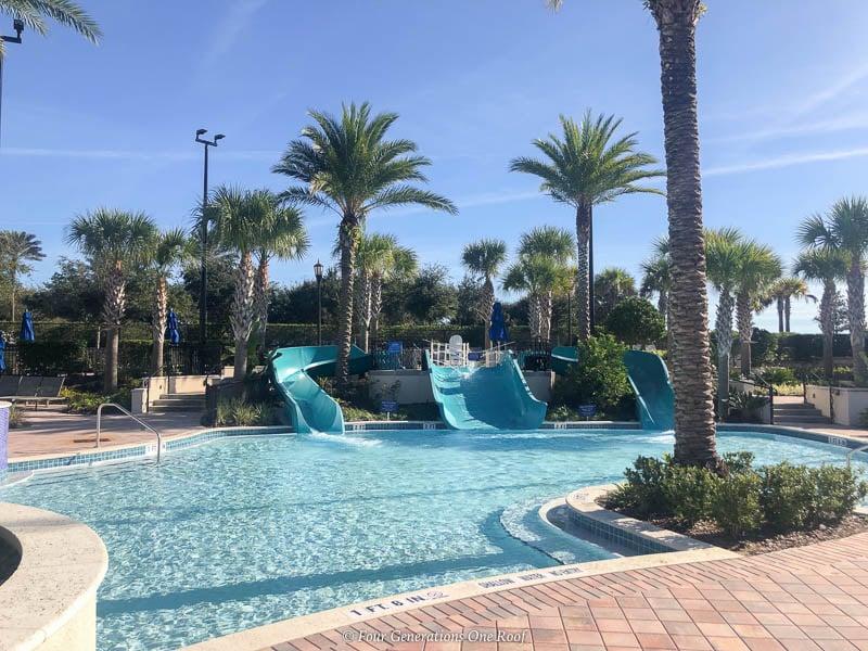waterslides Omni Orlando Resort