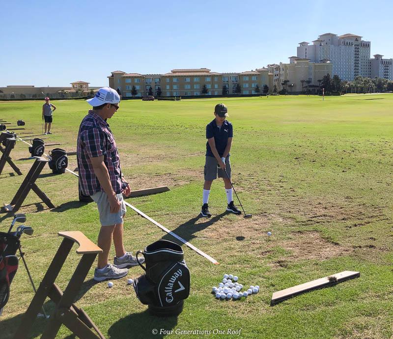Omni Orlando Resort putting range