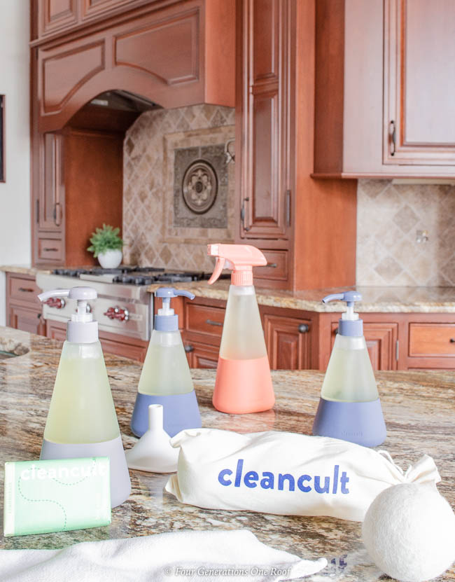 cleancult mosaic shatter proof cleaning bottles