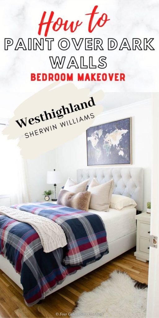 Sherwin Williams Westhighland Paint Color Bedroom Walls