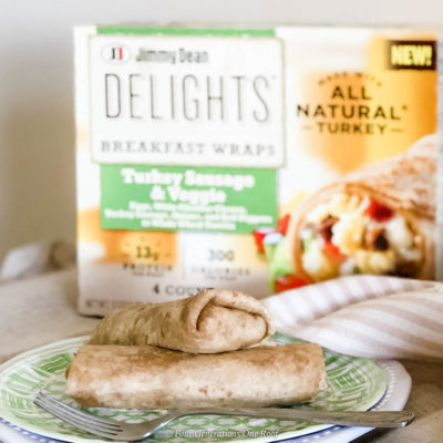 Delicious Wholesome Breakfast Wrap in 90+ Seconds