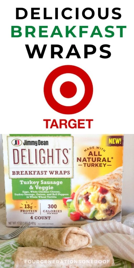 Jimmy Beam Delights Breakfast Wraps found at Target Coupon Sale