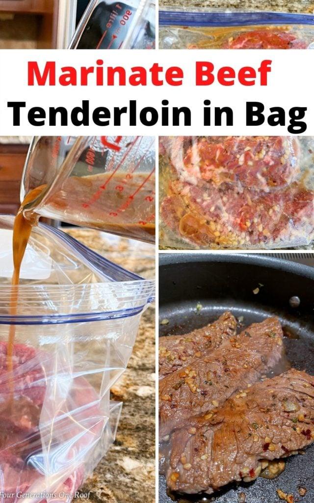 Marinate Beef Tenderloin in gag