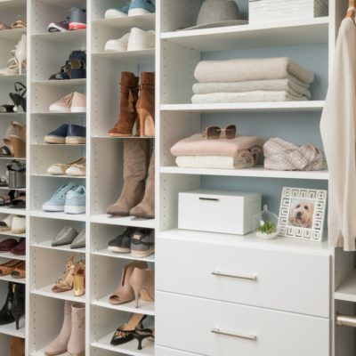 Our DIY Walk-In Custom Closet with Easy Closets