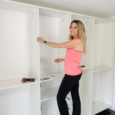 How to turn a spare bedroom into a dream walk in closet