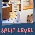 1970'S split level kitchen renovation project