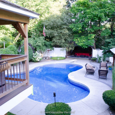 Backyard Pool Design Ideas {DIY Budget}