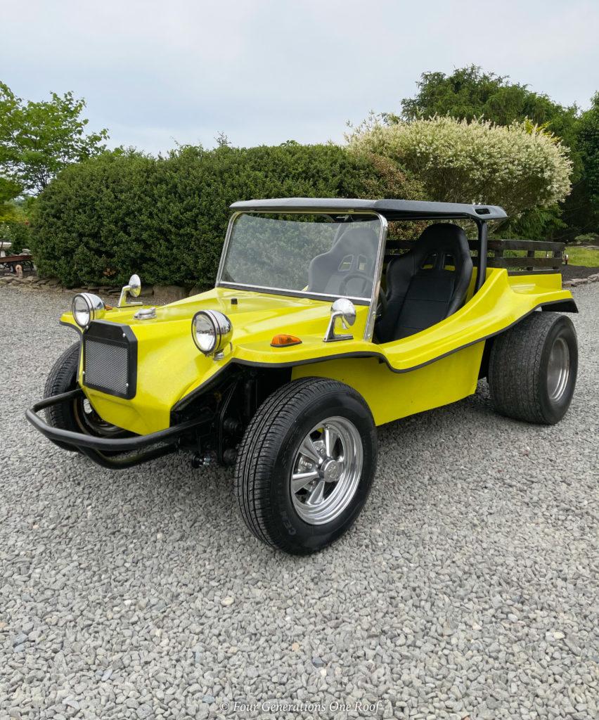 1961 Joe Poty yellow dune buggy