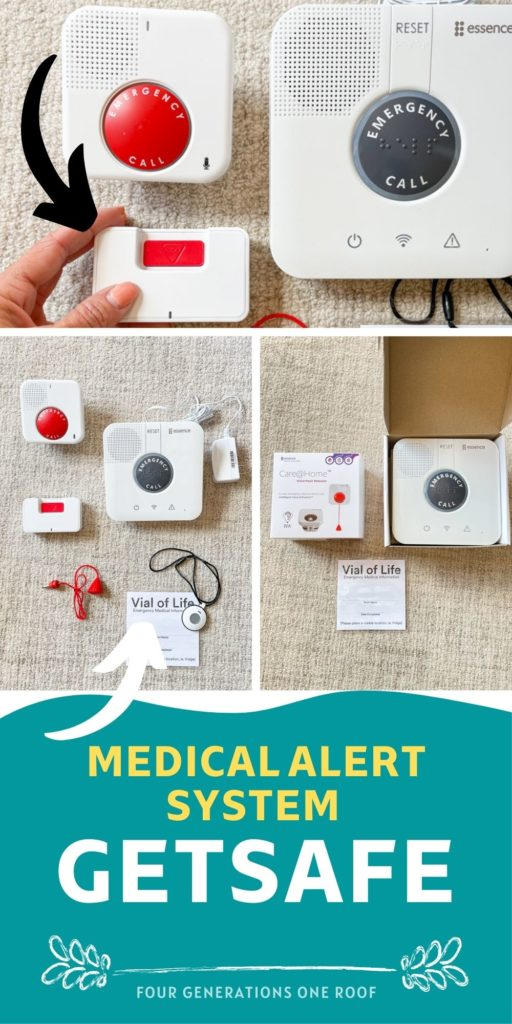 GetSafe Medical Alert System