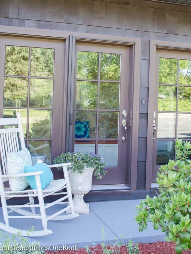 Foyer Doors Curb Appeal Makeover