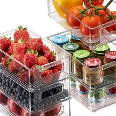 Best refrigerator organization bins