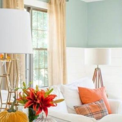 best fall decorating colors home tour